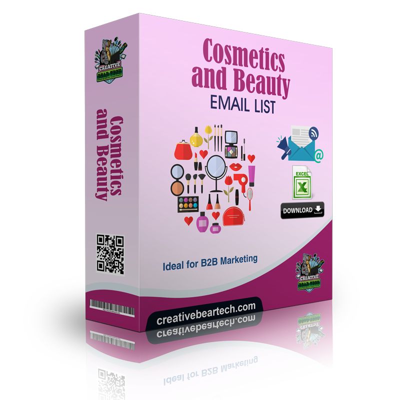 Beauty Products & Cosmetics Shops Email List and B2B Marketing List